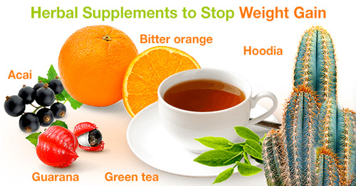 Herbal Supplements to Stop Weight